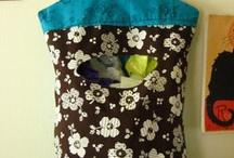 Plastic bag holder