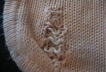 Knitting: Mending/Darning