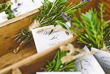 Place Setting / Escort Card / Seating Plan Ideas
