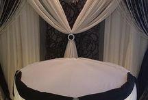 Dekoracje stołów balowych