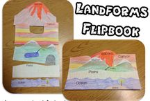 Landforms / by Becky Pallone