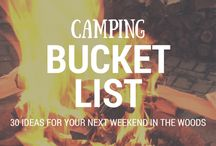 Bucket Lists for the Outdoors / Ideas for things to cross of your bucket list in the outdoors