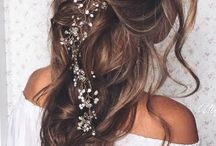 Fairy bride makeup & hair