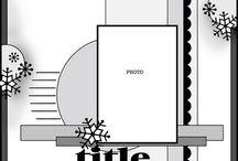 Paper Crafts {Scrapbooking Sketches}