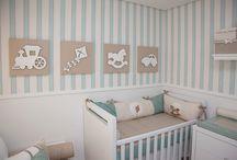 Ideias para o quarto do bebe