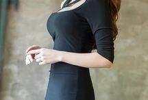 Woman Fashion Korean