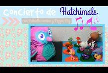 Jugando con Hatchimals