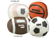 Have a Ball! / School Spirit Store offers thousands of Sport Balls and Sport Ball Shaped ideas- all custom with your school/team logo/name/mascot and in your colors!  Visit us at http://www.schoolspiritstore.com