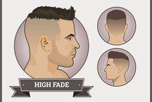 Cheveux: homme