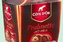 Chocolats Cote d'Or Lait / Côte d'Or, le chocolat préféré des belges : plus de 120 ans et toujours aucune ride pour l'éléphant. Une marque qui a su vous faire vibrer au fil du temps et qui continue aujourd'hui de faire rêver. www.chockies.net