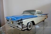 Buick Cars Vintage Tin Toy Cars