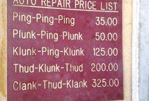 Mechanic funnies