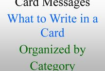 messages to write inside greeting cards