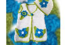 Crochet Vests & Hats