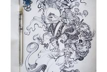 Beautiful Sketchbook Art