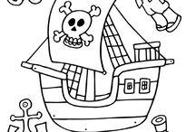 Piráti / materiál na školu v přírodě