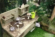 Kuchnia błotna/ Mud kitchen