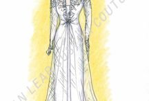 Fashion Illustrations / Fashion Illustrations created by VanLear Custom Couture