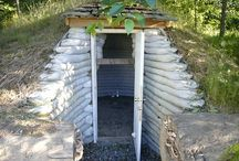Shed/ root cellar
