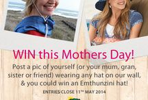 Mums in Hats / CELEBRATE Mums in Hats with us this #MothersDay and stand a chance to win one of our Emthunzini hats!   To enter, post a pic on our Facebook wall of you (or your friend, wife, mum, sister or gran) wearing any hat. Add why you really need to win a super new Emthunzini hat. Entries close at midnight on 11 May 2014. www.facebook.com/sunhats