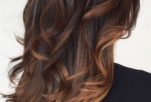 Bronzed ombre hair