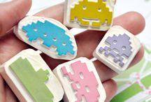 Eraser Stamps