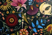 Ressources visuelles / Bauern, drawing, flowers, folk,