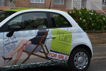 The Robert Luff & Co Car! / Our lovely designed company car.