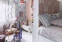 Divided kids room / by Shelley Doyle