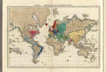 Maps, charts, & Useful Information / by Lisa Goddard-Miller