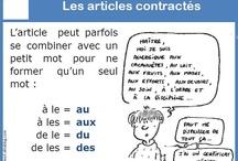 Les articles contractes