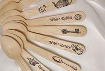 Alice in Wonderland / Spoons