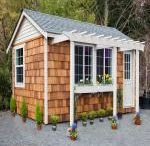 Backyard office / Prefab structures to add for Kim's office