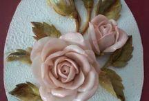 Kabartma çiçek