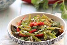 Chinese veggie food