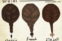 braided hair / by Naomi Abe