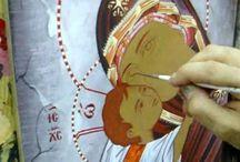 bysanttilainen ikonimaalaus