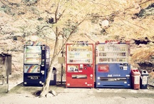 VENDING MACHINES。 / 自動販売機。