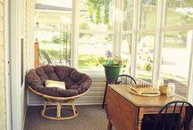 Dream Home - enclosed verandah