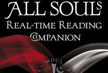 All Souls trilogy / I love these books, history, love, some bad guys and suspence