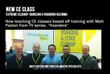 CE Continuing Education / CE Continuing Education for insurance agents, insurance agencies, and even general community are offered for free by ServiceMaster of Kalamazoo. We have many different classes, and a lot of information to give, while having fun at the same time.
