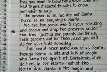 Santa letter / by Mary Kay West