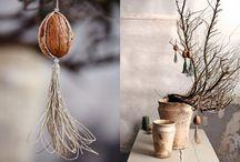 walnut christmas decorations / nuci de ciocani