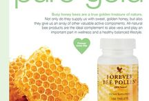 PURE GOLD. / PURE GOLD our treasured all natural Bee products.