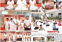 International Yoga Day Celebrated at GLBIMR on June 21, 2018 at its Greater Noida Campus