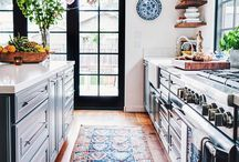 inspiration ; kitchen rugs