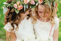 Flower Girl + Ring Bearer / flower girl dress, flower girl, ring bearer outfit, ring bearer, bridal party
