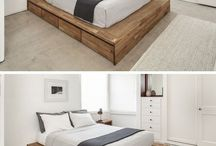 wood bed ideas