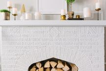 decor | fireplace / by Nicole Cors