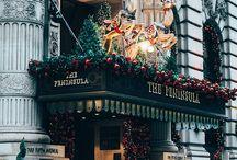 Christmas city love